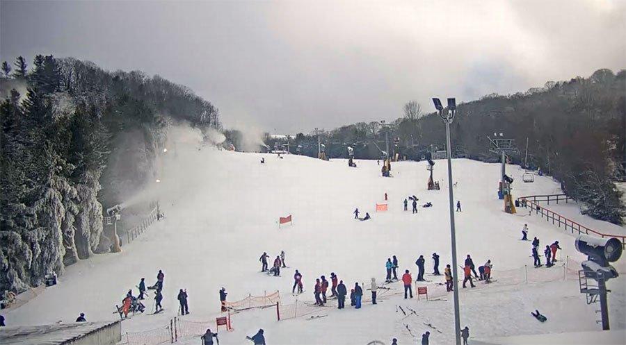 828 mountain webcams cataloochee ski resort
