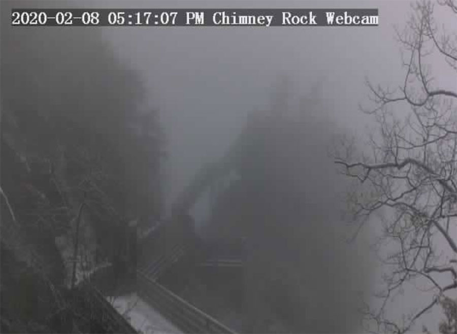 828 mountain webcams-chimney rock state park
