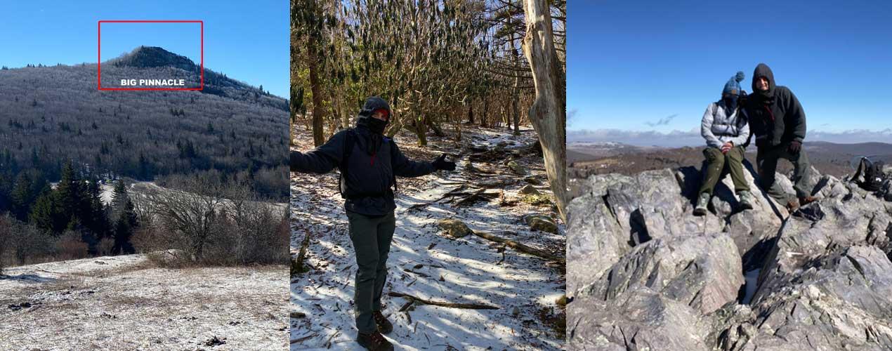big pinnacle grayson highlands state park virginia