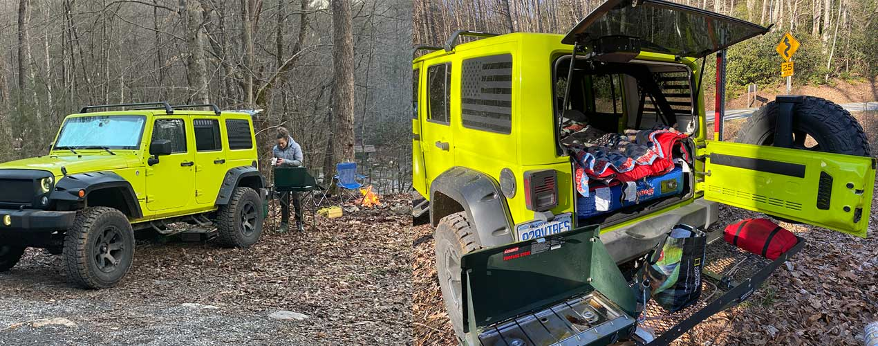 jeep camping great smoky mountains 828vibes