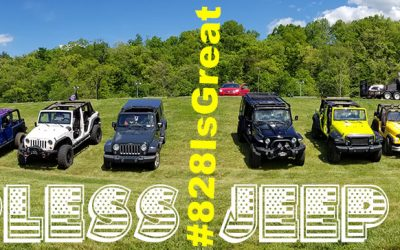It's GO TOPLESS DAY in the Great Smoky Mountains! But Wait, We Mean for Jeeps.