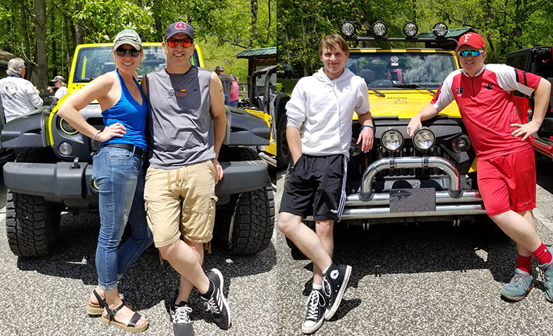 gotopless jeep ride event great smoky mountains western north carolina