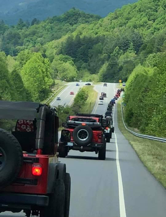 Go Topless Jeep Ride May 15 2021 Smoky Mountain Jeep Group Franklin NC