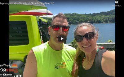 Kayaks on Lake Glenville, NC – WNC Mountain Lake