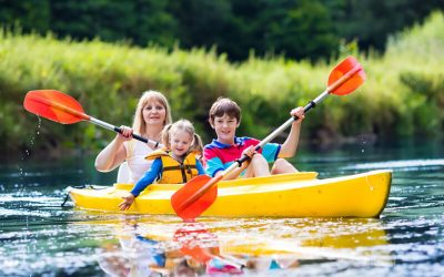 10 Family Friendly Kayaking Locations in Great Smoky Mountains of Western North Carolina